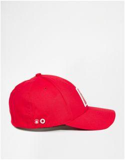 Кепка Yankey New Balance                                                                                                              красный цвет