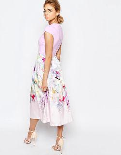 Платье Hanging Gardens Ted Baker                                                                                                              розовый цвет