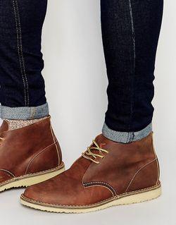 Ботинки Чукки Weekender Коричневый Red Wing                                                                                                              коричневый цвет