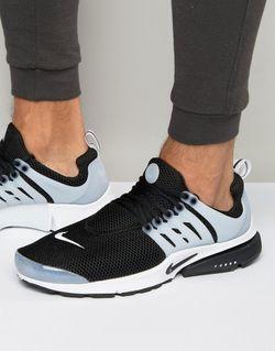 Черные Кроссовки Air Presto 848132-010 Черный Nike                                                                                                              чёрный цвет