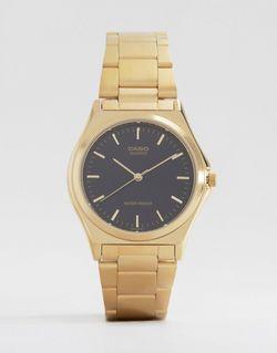 Часы С Ремешком Из Нержавеющей Стали Mtp1130n-1a Casio                                                                                                              золотой цвет
