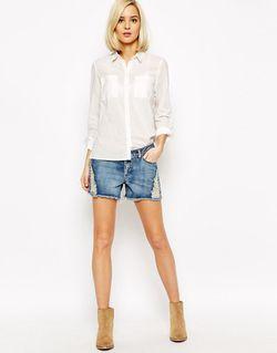 Льняная Рубашка Vero Moda                                                                                                              None цвет