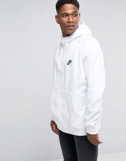 Белое Худи На Молнии 809056-100 Белый Nike                                                                                                              None цвет