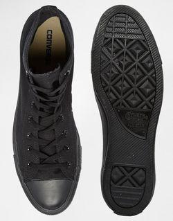 Высокие Кеды All Star Converse                                                                                                              черный цвет