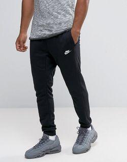 Черные Зауженные Джоггеры 804465-010 Черный Nike                                                                                                              None цвет