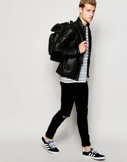 Куртка Из Искусственной Зерненой Кожи Jack Jones Jack & Jones                                                                                                              черный цвет