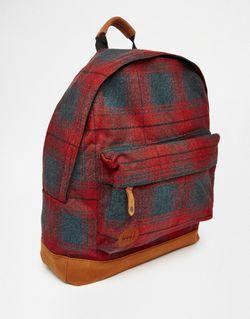 Рюкзак В Клетку MI-PAC                                                                                                              красный цвет