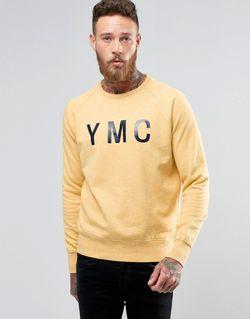 Свитер С Логотипом Желтый YMC                                                                                                              желтый цвет