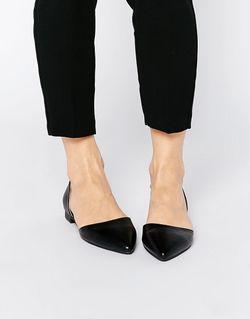 Туфли Из Двух Частей На Плоской Подошве London Rebel                                                                                                              черный цвет