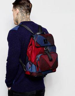 Рюкзак В Клетку Тартан Vivienne Westwood                                                                                                              синий цвет