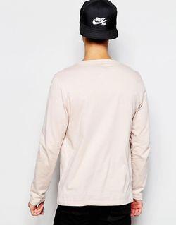 Розовый Лонгслив С Овальным Вырезом Asos                                                                                                              розовый цвет