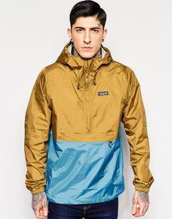 Куртка Через Голову Torrentshell Oaks Brown Patagonia                                                                                                              коричневый цвет