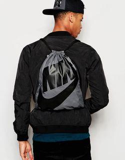 Рюкзак С Завязкой Heritage Ba5128-009 Nike                                                                                                              серый цвет