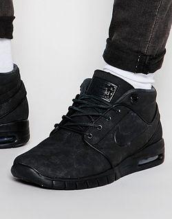 Кроссовки Средней Высоты Nike Stefan Janoski Max Nike SB                                                                                                              чёрный цвет