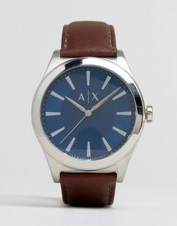 Часы С Коричневым Кожаным Ремешком Ax2324 ARMANI EXCHANGE                                                                                                              None цвет