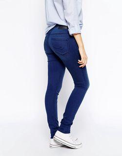 Джеггинсы Esprit                                                                                                              синий цвет