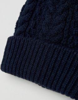 Темно-Синяя Шапка-Бини Asos                                                                                                              синий цвет