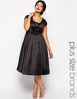 Платье Для Выпускного Миди Chi Chi Plus Chi Chi London                                                                                                              None цвет