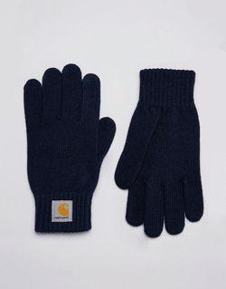 Перчатки Carhartt WIP                                                                                                              синий цвет