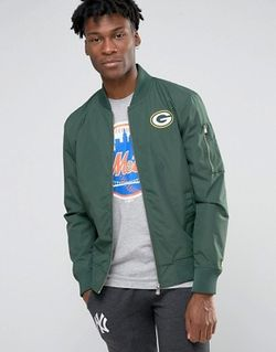 Куртка-Пилот Packers Зеленый New Era                                                                                                              None цвет