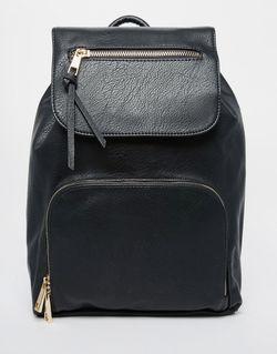 Структурированный Рюкзак Черный Aldo                                                                                                              чёрный цвет