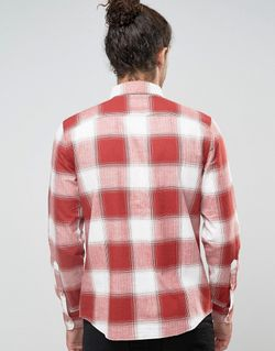 Фланелевая Рубашка Узкого Кроя На Пуговицах В Hollister                                                                                                              None цвет