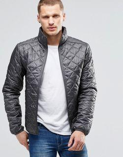 Серая Стеганая Куртка Castlerock Grey Blend                                                                                                              серый цвет
