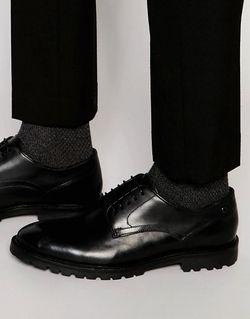 Кожаные Туфли Дерби Barrage Черный Base London                                                                                                              чёрный цвет
