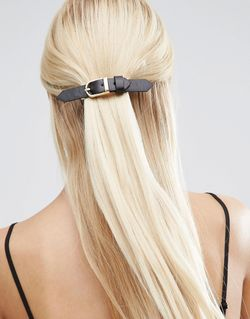 Buckle Hair Barrette Asos                                                                                                              чёрный цвет