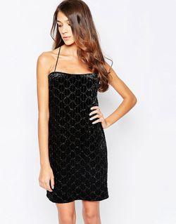 Бархатное Платье-Майка Imogen Черный Hedonia                                                                                                              чёрный цвет