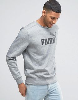 No.1 Logo Crew Sweatshirt In Grey 83185903 Puma                                                                                                              None цвет