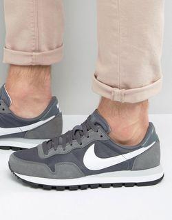 Серые Кроссовки Air Pegasus 83 827921-002 Серый Nike                                                                                                              серый цвет