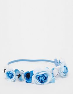 Festival Floral Hair Garland Monki                                                                                                              None цвет