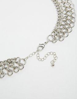 Многоярусное Ожерелье Designsix                                                                                                              Серебряный цвет