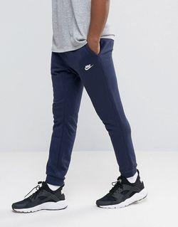 Синие Облегающие Джоггеры 804465-451 Синий Nike                                                                                                              None цвет