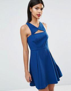 Платье С Вырезом Спереди Bcbg Generation Splash BCBGeneration                                                                                                              Splash U45 цвет