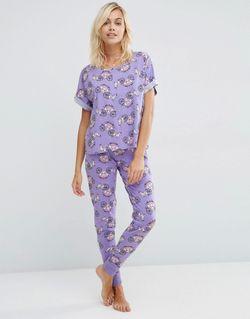 Пижамный Комплект Unicorn Carriage Мульти Asos                                                                                                              многоцветный цвет