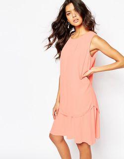 Двухслойное Платье BOSS Orange                                                                                                              None цвет