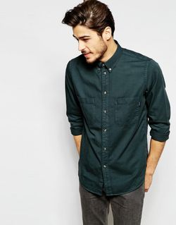 Рубашка Классического Кроя Paul Smith Jeans Серый PS PAUL SMITH                                                                                                              серый цвет
