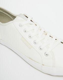Кроссовки Из Искусственной Кожи Voi                                                                                                              белый цвет