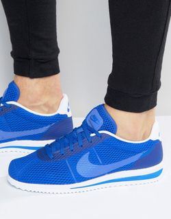 Кроссовки Cortez Ultra Breathe 833128-401 Синий Nike                                                                                                              синий цвет