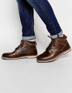 Ботинки На Шнуровке Коричневый Red Tape                                                                                                              коричневый цвет