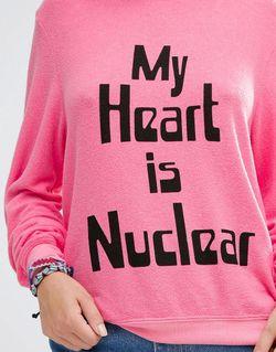 My Heart Jumper Wildfox                                                                                                              розовый цвет