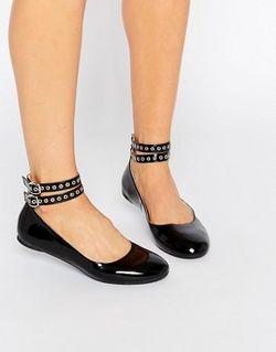 Черные Туфли На Плоской Подошве Черный Daisy Street                                                                                                              None цвет