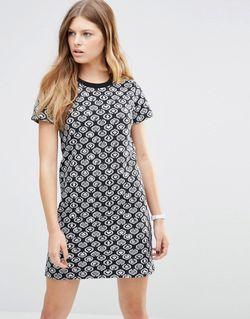 Платье Мини Icon Черный Stussy                                                                                                              черный цвет
