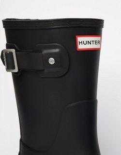 Короткие Резиновые Сапоги Original Черный Hunter                                                                                                              черный цвет