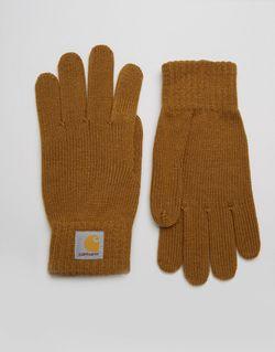 Перчатки Carhartt WIP                                                                                                              коричневый цвет
