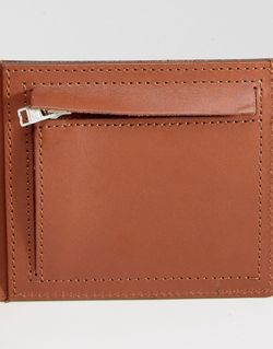 Коричневый Кожаный Бумажник Bill Коричневый Sandqvist                                                                                                              коричневый цвет