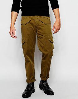 Брюки Карго Зеленый Paul Smith Jeans                                                                                                              зелёный цвет