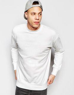 Свитшот Со Слоганом Белый Izzue                                                                                                              белый цвет